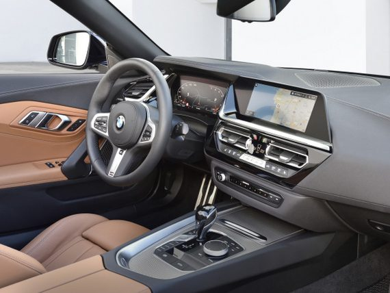 2019 BMW Z4 Roadster India Interior