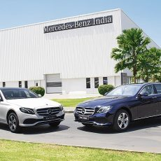 New Mercedes-Benz E-Class Introduced in India