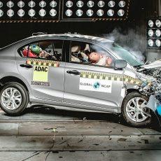 Honda Amaze Crash Tested, Receives Four Star Rating