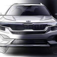 Made-in-India Kia SUV Official Sketches Revealed; Launch by June 2019