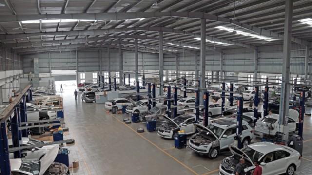 Largest Skoda Workshop SGA Cars