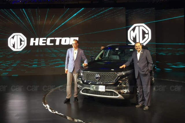 MG Hector is the latest SUV in India