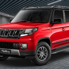 Facelifted Mahindra TUV300 Launch