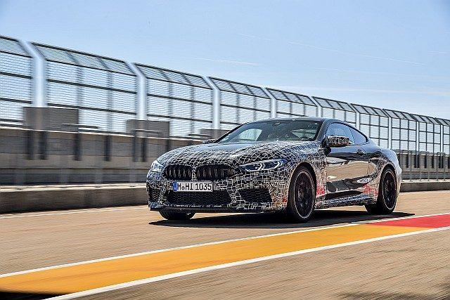 New BMW M8 web