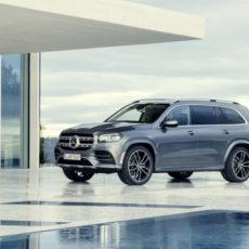 New Mercedes GLS Luxury SUV