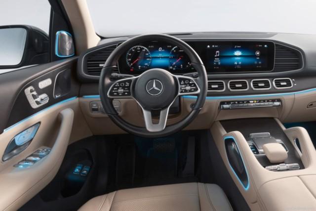 New Mercedes GLS