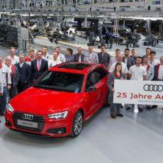 Audi A4 Celebrates its Silver Jubilee!