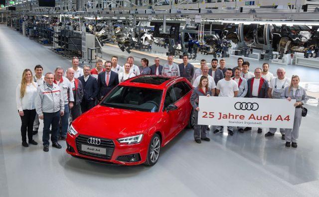 Audi A4 25th anniversary