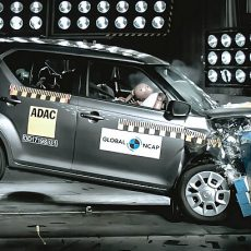 Suzuki Ignis Crash Tested, Receives a Three Star Rating