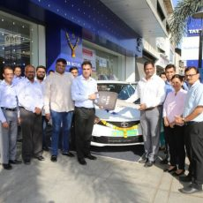Tata Motors Supply Tigor EVs to Aaron Travels Mumbai