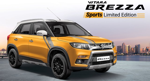 Maruti Suzuki Vitara Brezza Sports Limited Edition Launched