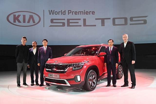 Kia Seltos SUV India premiere