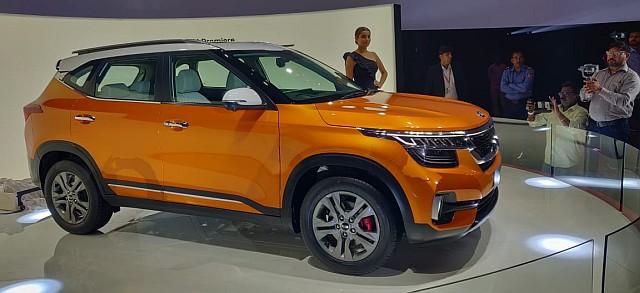 Kia Seltos mid SUV launching in India