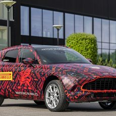 First Aston Martin DBX SUV Rolls Out of St Athan