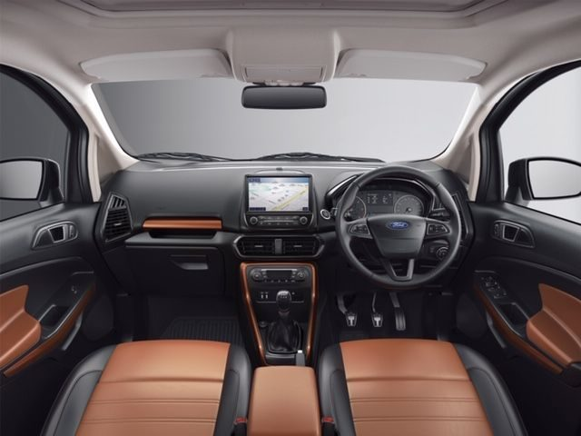 Ford EcoSport Thunder cognac