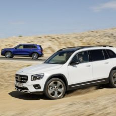 New Mercedes GLB Production Model Revealed