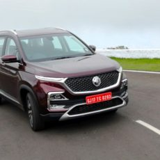 New MG Hector First Drive Review