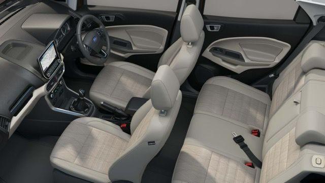 Ford EcoSport Thunder interiors