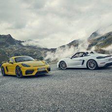 New Porsche 718 Cayman GT4 and 718 Spyder Revealed