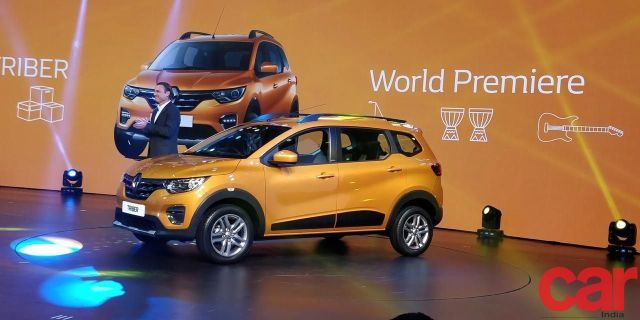 All New Renault Triber Revealed to the World