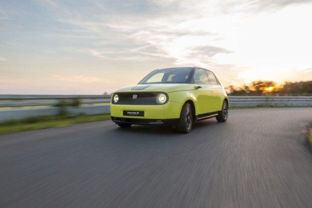 New Honda e Prototype Breaks Cover