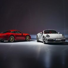 Porsche 911 Carrera Coupe and Cabriolet Introduced