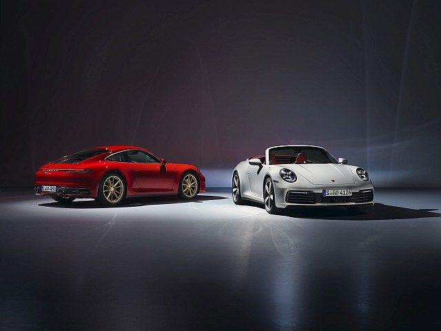 Porsche 911 Carrera Coupe and Cabriolet WEB