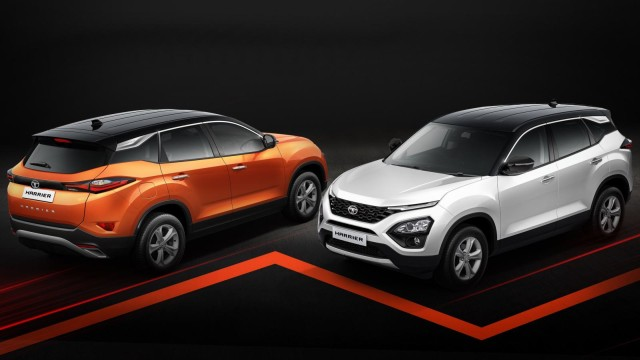 dual tone Tata Harrier is baed on top-end XZ variant