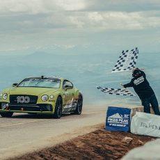 Bentley Continental GT Breaks Pikes Peak Record