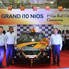 Hyundai Rolls Out First Grand i10 NIOS