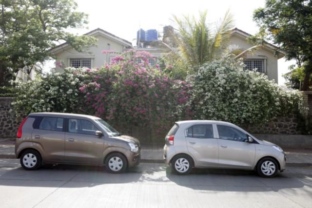 Hyundai Santro v Maruti Wagon R