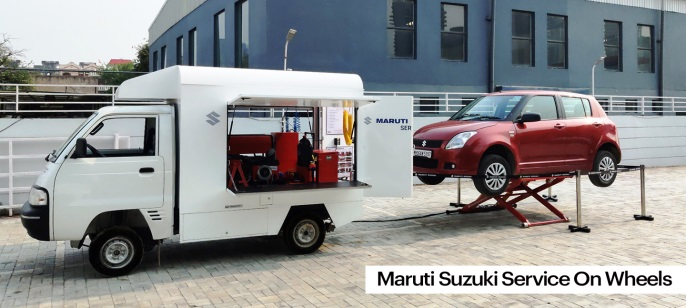 Maruti Suzuki Service on Wheels Now At Your Door Steps