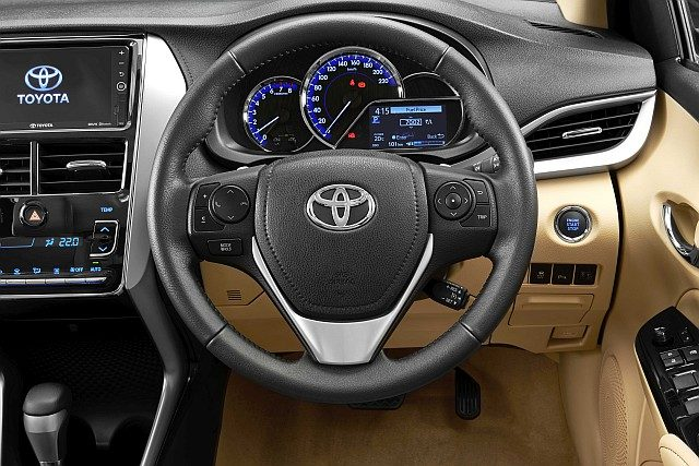 Leather wrapped steering WEB