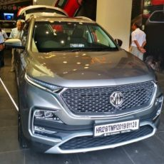 MG Hector Beats Slowdown; 3,536 Units Sold in October