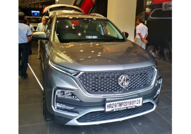 MG Hector sales in October 2019