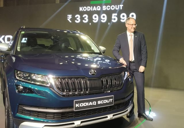 Skoda Kodiaq Scout Launched in India