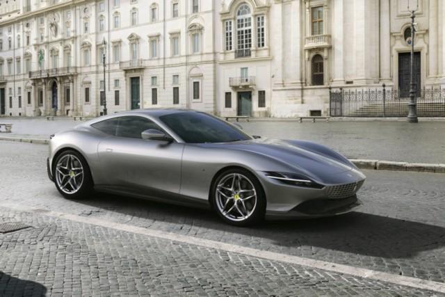 new Ferrari Roma