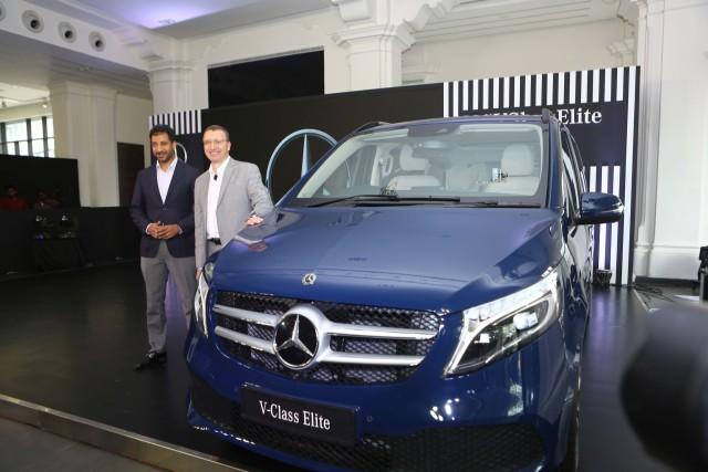 Mercedes V-Class Elite Launch