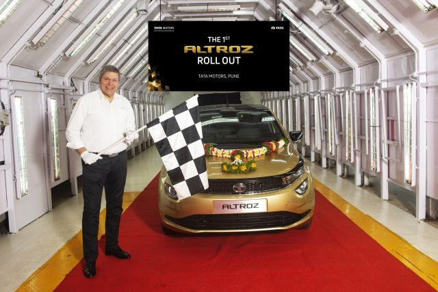 Tata Altroz Rolls Out In Pune