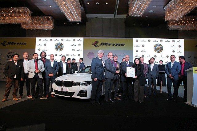 BMW 3 Series wins ICOTY WEB