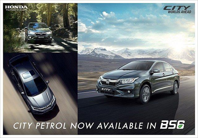 Honda City i-VTEC Petrol BS6 LAUNCH WEB