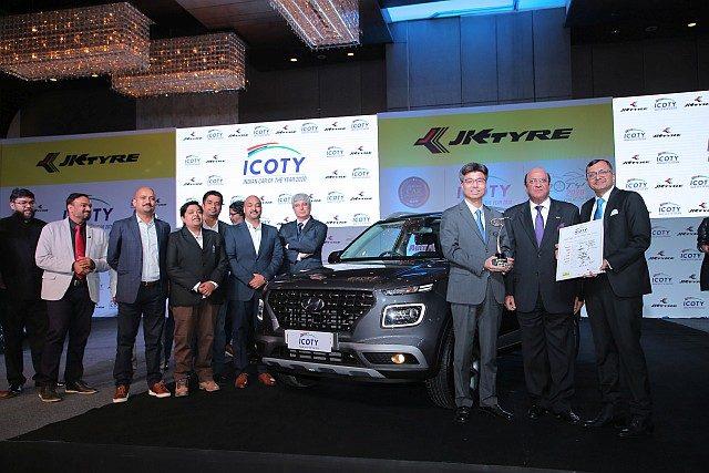 Hyundai Venue wins ICOTY WEB
