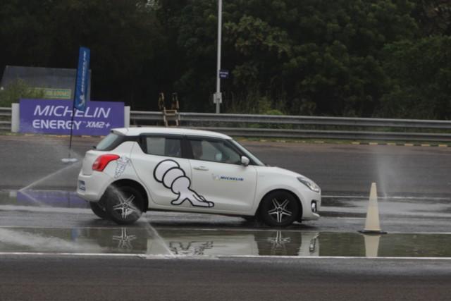 Michelin Energy XM2+ Brake Test