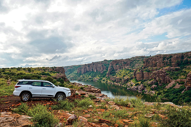 Toyota Fortuner Road Trip To Gandikota – The Grand Canyon Of India