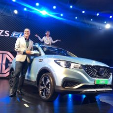 MG ZS EV – Morris Garages' First All Electric SUV Unveiled in India