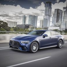 Mercedes-AMG GT 63 S 4MATIC+ 4-Türer Coupé, designo brillantblau magno; Leder Exklusiv Nappa/Mikrofaser schwarz/rote Ziernähte;Kraftstoffverbrauch kombiniert: 11,2 l/100 km; CO2-Emissionen kombiniert: 256 g/km* Mercedes-AMG GT 63 S 4MATIC+ 4-Door Coupé, designo brilliant blue magno; Exclusive Nappa leather/ microfibre black/red topstitching;Fuel consumption combined: 11.2 l/100 km; CO2 emissions combined: 256 g/km*