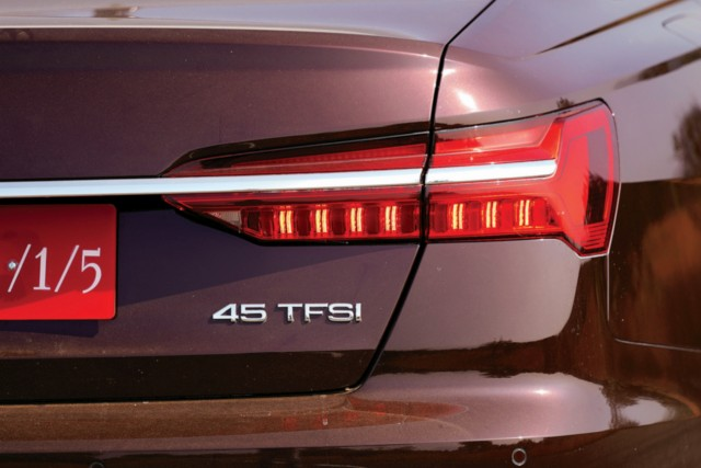 new Audi A6 45 TFSI