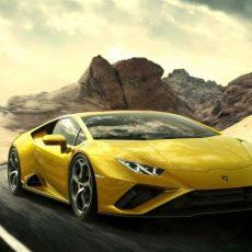The New Lamborghini Huracán EVO RWD