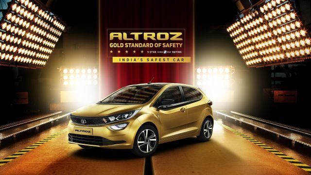 Tata Altroz Earns a Five Star Safety Rating From Global NCAP