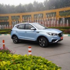 MG ZS EV Electric SUV Launched in India